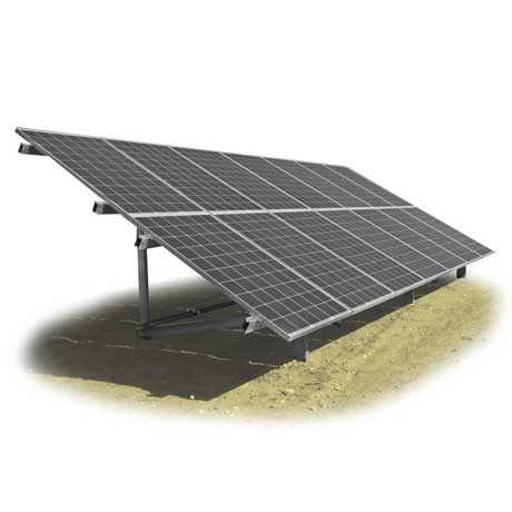 Estructura fotovoltaica para huertas solares, sistema BP-FIELD, Solarstem
