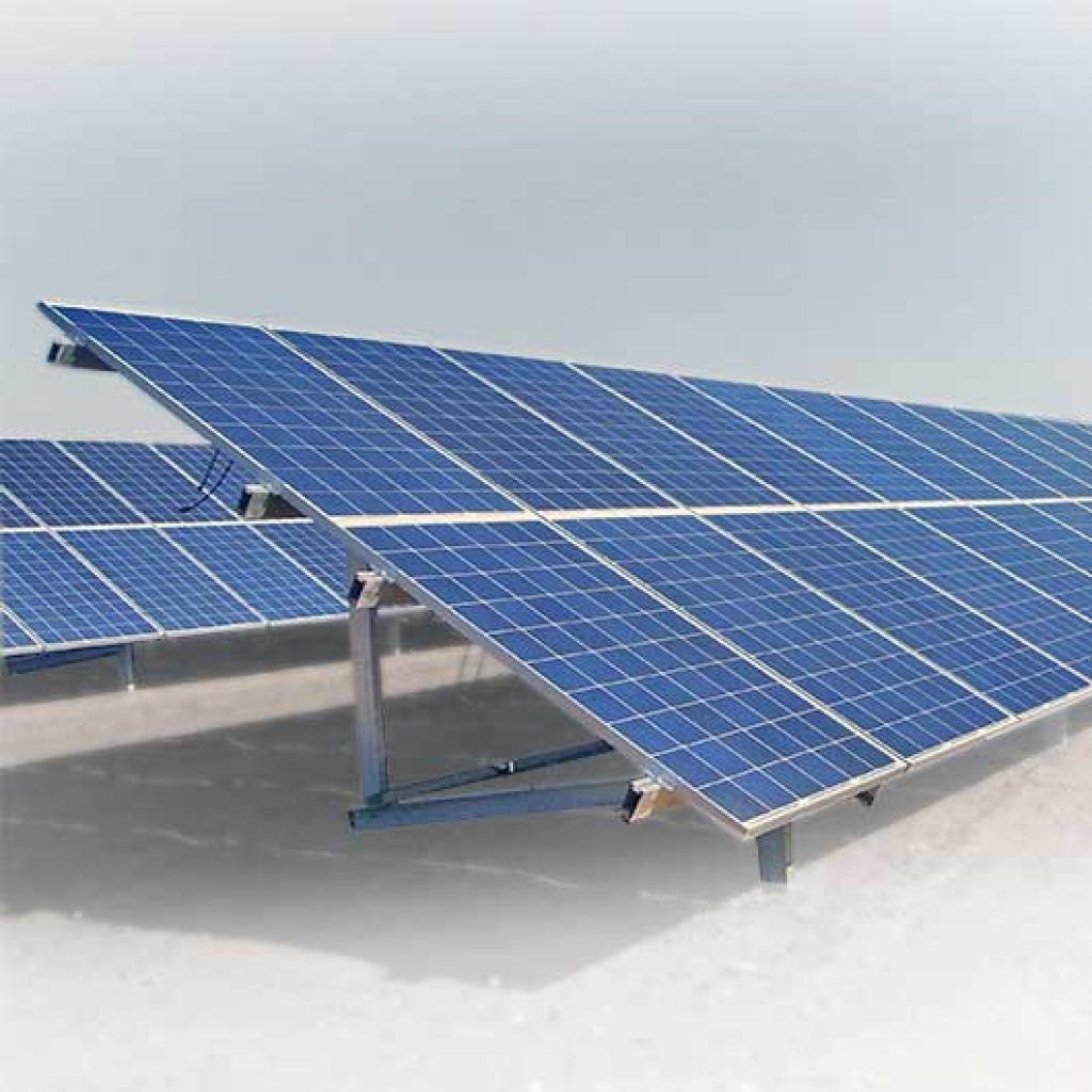 Estructura fotovoltaica para huertas solares, Solarstem