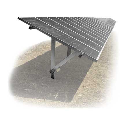 Estructura fotovoltaica para huertas solares, sistema MP-FIELD, Solarstem