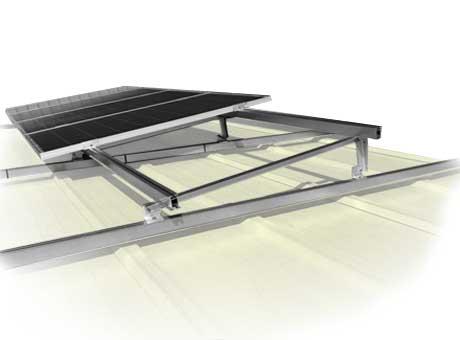Estructuras para paneles solares en tejados inclinados AF-GRID, Solarstem