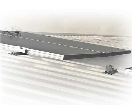 Estructuras para paneles solares en tejados inclinados OR-MINI, Solarstem
