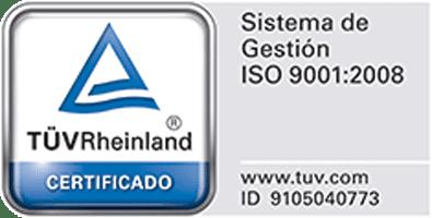Sistema de gestion ISO 9001:2008 TÜV RHEINLAND, Solarstem