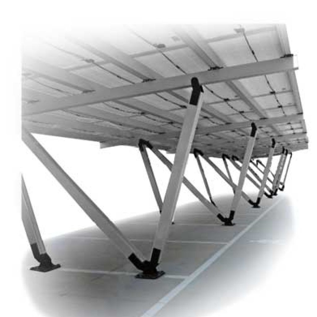 Marquesinas fotovoltaicas aparcamiento carport, Solarstem