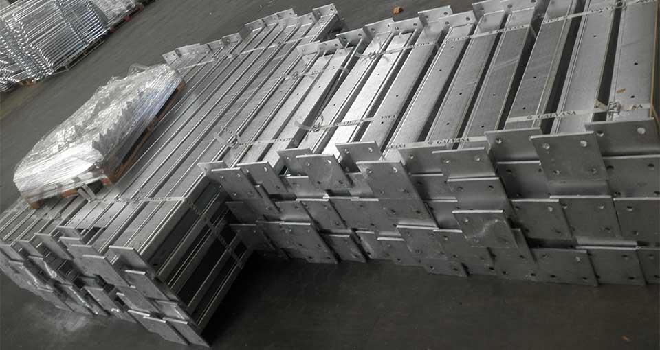 Soportes para placas solares galvanizados caliente Solarstem estructuras para placas solares