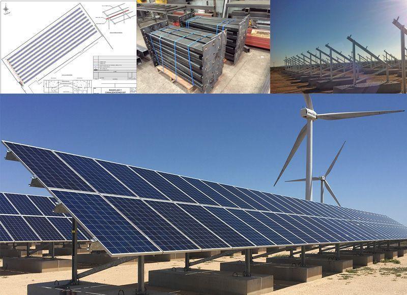 calculamos su estructura fotovoltaica - soportes para placas solares - solarstem
